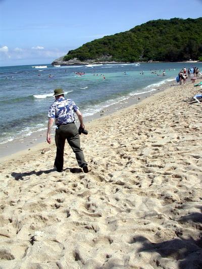 John McEnroe, Labadee, Haiti, 11/3/2002